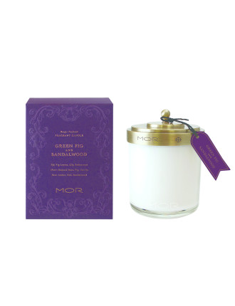 Mor Fragrant Candle 380g Green Fig & Sandalwood