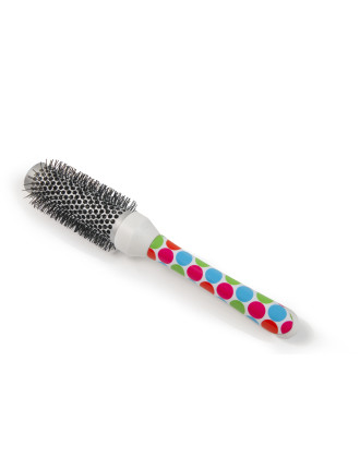 Medium Radial Brush Multicoloured Polka Dot