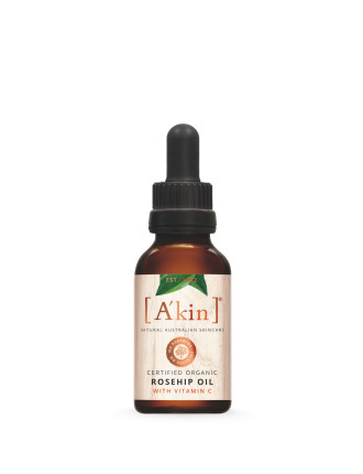 Certified Organic Rosehip Oil With Vitamin C 20ml