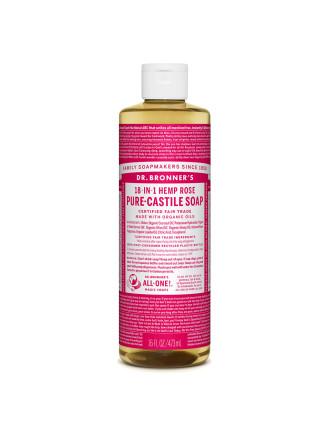 Liquid Castile Soap Rose