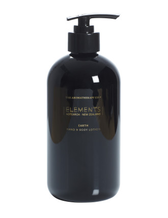 Elements Hand Lotion, Earth