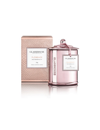Florence - Wild Peonies & Lily Triple Scented Candle 350g