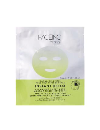 Sheet Mask Instant Detox