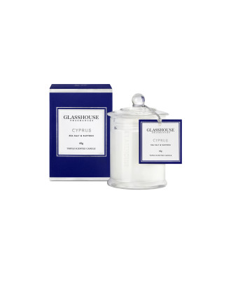 Glasshouse Cyprus - Sea Salt & Saffron 60g Candle