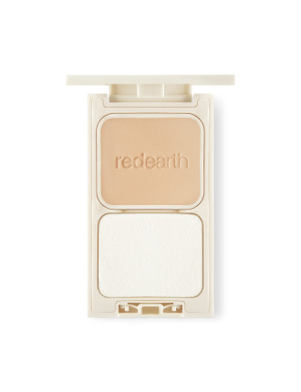 2 Way Velvety Skin Smooth Compact Foundation Creamy Bisque