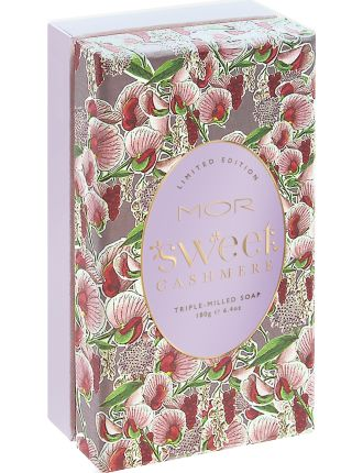 LIMITED EDITION TRIPLE-MILLED SOAP SWEET CASHMERE 180g
