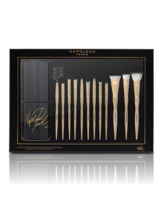 Signature Golden Rule 12 Piece Makeup Brush Kit