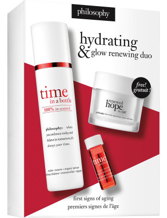 renewed hope & time in a bottle duo set
