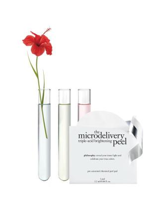 microdelivery triple-acid brightening peel