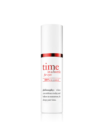 time in a bottle 100% in-control eye serum