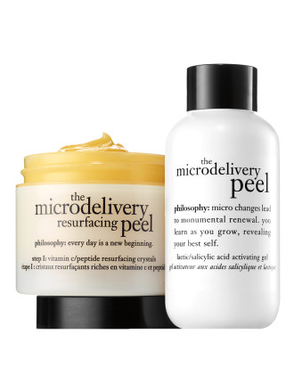 Microdelivery In Home Vitmain C Peptide Peel Kit