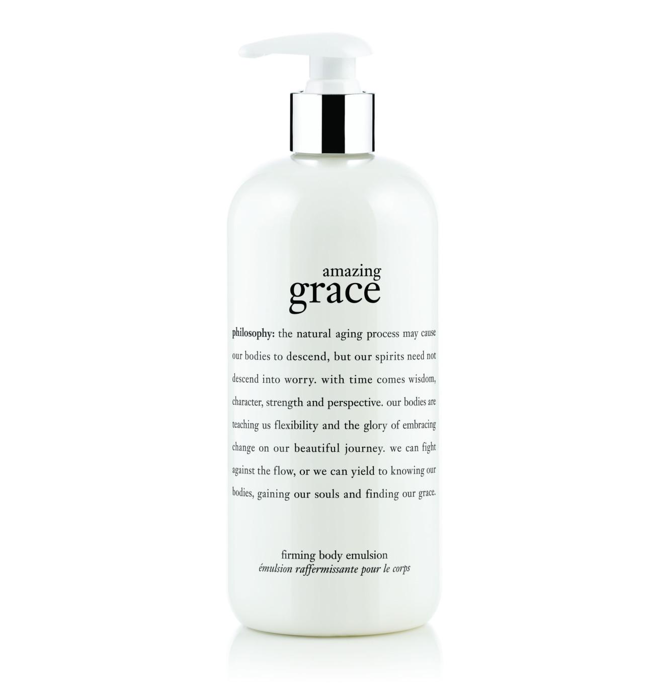 philosophy beauty skincare fragrances buy now david jones amazing grace body firming emulsion 480ml