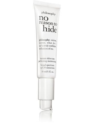 No Reason To Hide Tinted Moisturizer