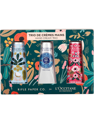 Limited Edition Shea Hand Cream Trio