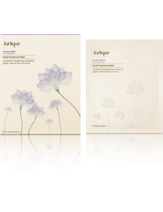 Purely White Skin Brightening Facial Treatment Masks