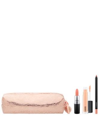 Snow Ball Holiday Lip Bag