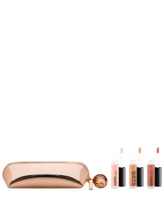 Snow Ball Holiday Mini Lip Gloss Kit