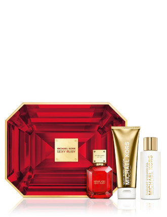 MICHAEL KORS SEXY RUBY 3PC SET 50ml