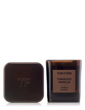 Tobacco Vanille Candle And Cover Set