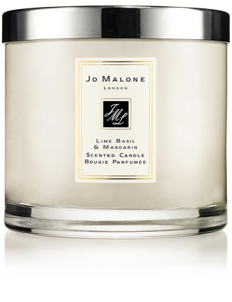 Lime Basil Mandarin Deluxe Candle