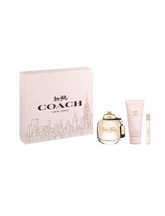 M18 COACH WOMAN 3PC SET EDP 90ml - BL 100ml - EDP 7.5ml