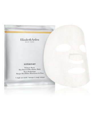 SUPERSTART Probiotic Boost, Skin Renewal Biocellulose Masks