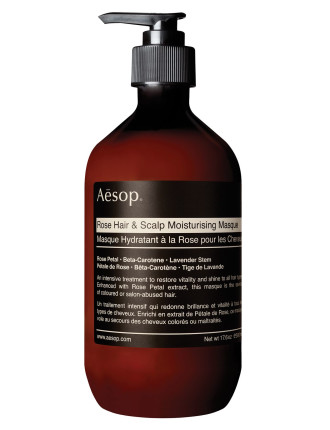 Rose Hair & Scalp Moisturising Masque 500ml