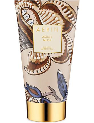 Amber Musk Body Cream