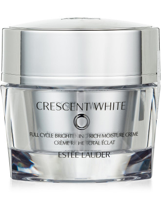 Crescent White Brightening Rich Moisture Crème