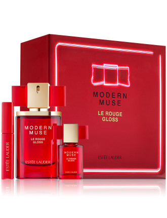 Modern Muse Le Rouge Gloss 3-Piece Limited Edition Set