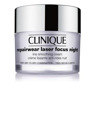 Repairwear Laser Focus Night Line Smoothing Cream - Dry