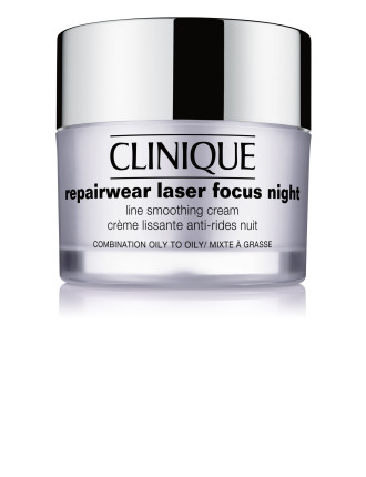Repairwear Laser Focus Night Line Smoothing Cream -Oily