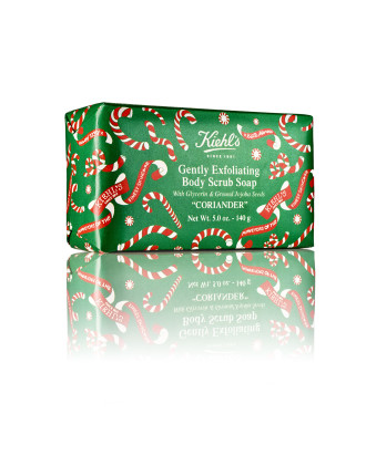 HOLIDAY EDITION GENTLY EXFOLIATING BODY SCRUB BAR CORIANDER