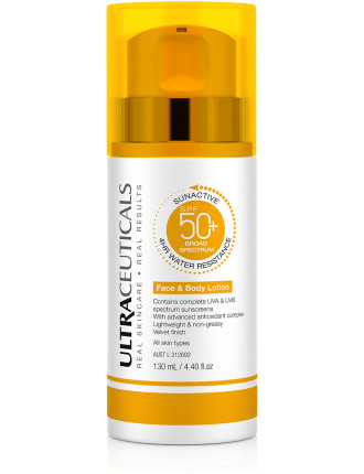 Ultra Sun Active Spf50+ Body Lotion Xop