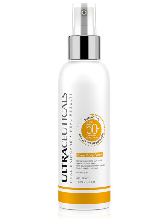Sunactive Spf 50+ Clear Spray Body Xop
