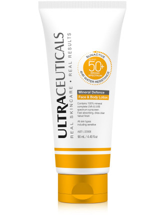 Sunactive Spf 50+ Mineral Defence, Face & Body Xop