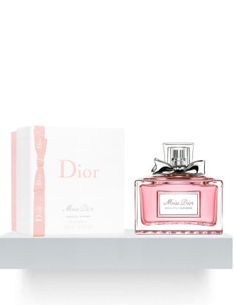 Miss Dior Absolutely Blooming 100ml Edp Pre Wrap