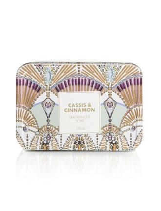 Cassis & Cinnamon Soap