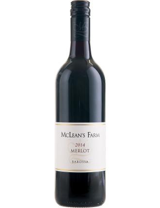 Mclean'S Farm Barossa Valley Merlot 2014 (12 Bottles)