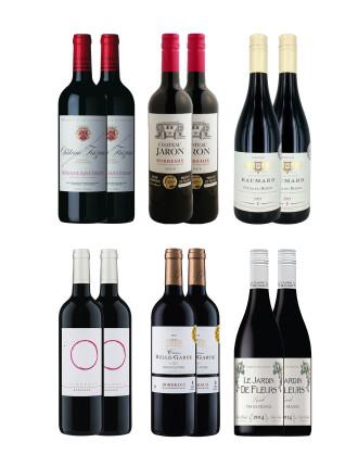 Stylish French Reds (12 Bottles)