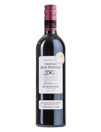 Chateau Bois Pertuis Bordeaux Merl Cab 2013 (12b)