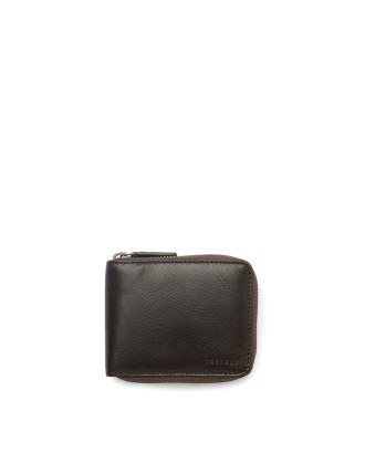 Thomas Leather Zip Around Wallet