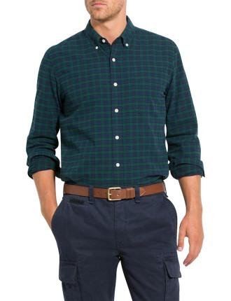 Blkwatch Check Oxford Shirt