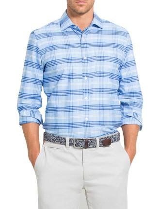 Barre Plaid Oxford Shirt