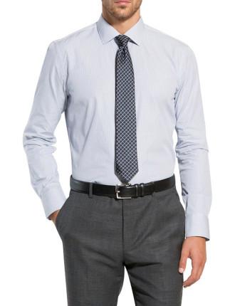 Modern Bi-Line Stripe Shirt