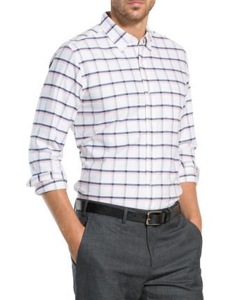 Shadow Windowpane Oxford Shirt