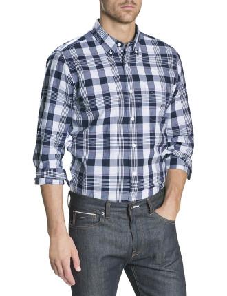 Indgo Hilight Check Shirt