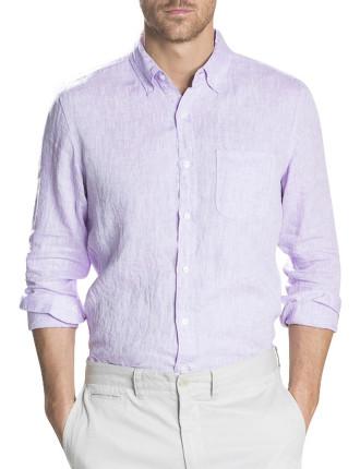 Cross Dye Linen Shirt