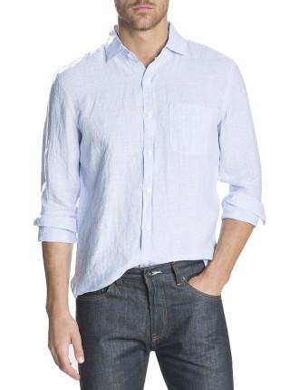 Bengal Stripe Linen Shirt