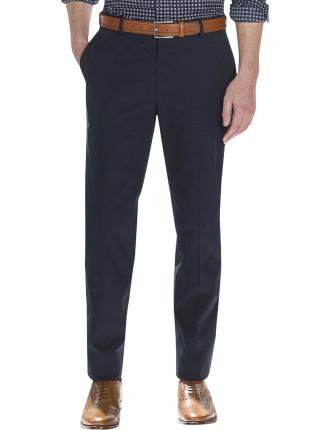 Modern Compact Twill Trouser